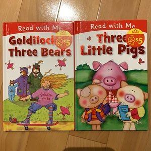FREE with 3+ bundle-Three Little Pigs & Goldilocks